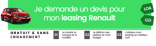 Simulation leasing Renault