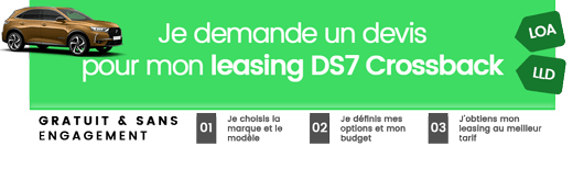 Simulation leasing DS7 Crossback